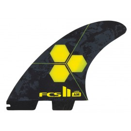 FCSII Al Merrick PC Large Yellow Tri Fins