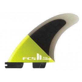 FCSII Carver PC Medium Acid Balck Tri Fins