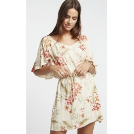 Billabong Fine Flutter Pistachio Dress