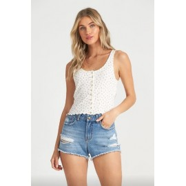 Billabong Find A Way Whisper White Tank