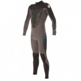 Wetsuit Rental Rip Curl Insulator 5/4mm Back Zip Black Charcoal