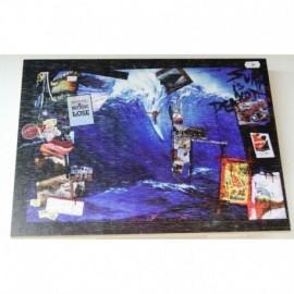 Tableau Bois Ola Ketal postcard