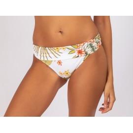 BANANA MOON Praxa Lahaina White Bikini Bottom