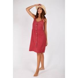 BANANA MOON Dress Lilyna Hawston Cherry