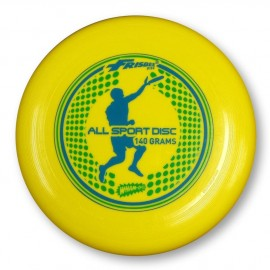 Frisbee Disc Freestyle Jaune 140gr