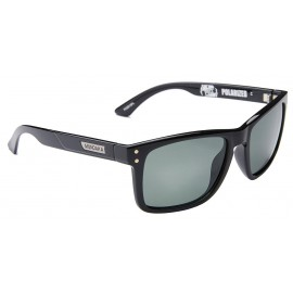 Mundaka Pozz Polarized Polished Black Sunglasse