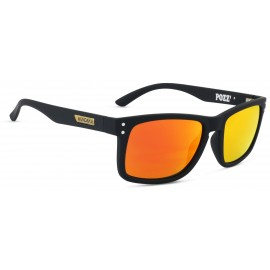 Mundaka Pozz Polarized Rubber Black Sunglasse