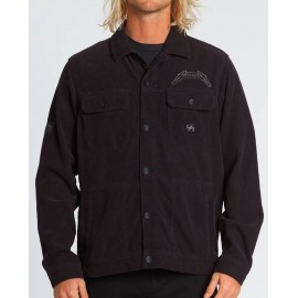 Billabong Metallica Black Album Stealth Jacket