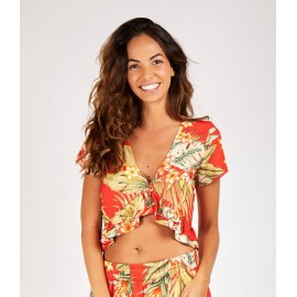 BANANA MOON Treezi Waimeavo Red Top