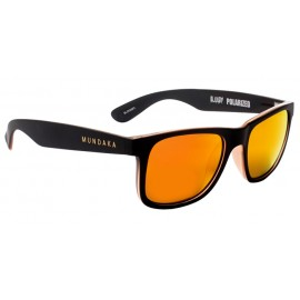 Mundaka Bloody Polarized Black Orange Sunglasse