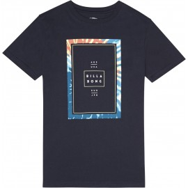 Billabong Junior Tucked Navy Tee Shirt
