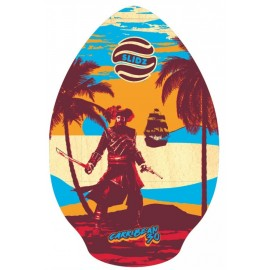 "Skimboard Slidz Carribean 30"" Red Blue"