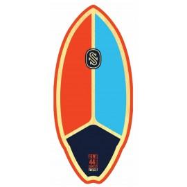 "Skimboard Skim One Fiberwood Trisect 44"" Orange Blue Navy"