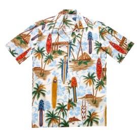Aloha Republic Longboard Cream Shirt