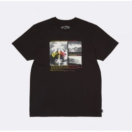 Tee Shirt Homme BILLABONG Crash Noir
