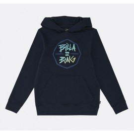 BILLABONG Octo Hood Navy Junior Sweatshirt