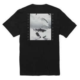 Tee Shirt Homme VISSLA Friendly Fins Wash Phantom