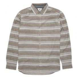 VISSLA Volt Java Heather Flannel Shirt