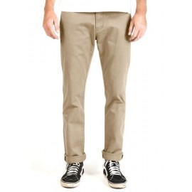 High Tider Vissla Chino Slim Fit Light Khaki Pants