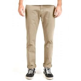 Pantalon Vissla High Tider Chino Slim Fit Light Khaki