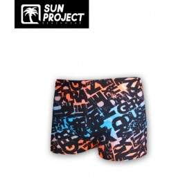 Children's Swim Trunks SUN PROJECT Lettres Multi