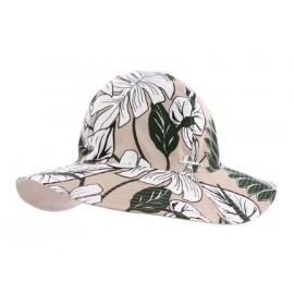 HERMAN Boogie Beige Capeline Fabric Hat