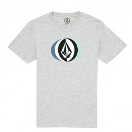 VOLCOM Vast Heather Gray Junior T-Shirt