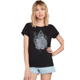 Women's T-Shirt VOLCOM Radical Daze Black