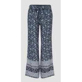 Women's Light Pants O'Neill Arena Wide Blue Aop