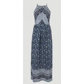 O'Neill Chrissy Strappy Blue AOP dress