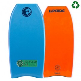 "Bodyboard Pride The Timeless PE Recyclé HD 39"" Aqua Blue Orange"