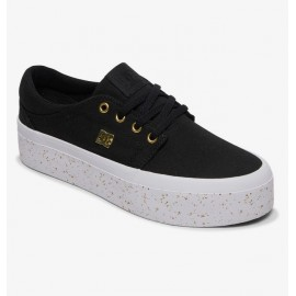 DC Trase Platform TX SE Women's Shoe Black Gold