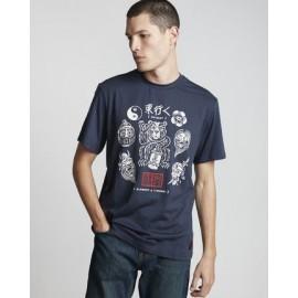 Tee Shirt Homme ELEMENT Flash Indigo