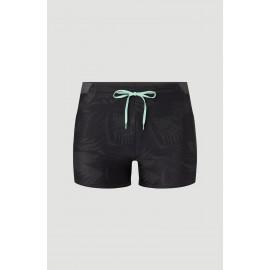 Men's O'NEILL Oahu Black Gray Boxer Swimsuit