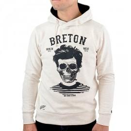 STERED Breton Bev Atav Men's Hoodie Ecru