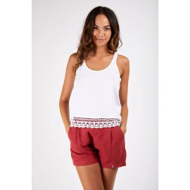 BANANA MOON Yoro Tisha White Tank Top