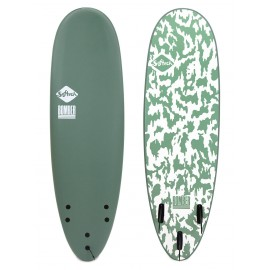 Surf Softech Bomber FCSII 6'4 Smoke Green White