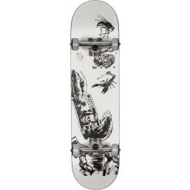 Complet Globe G1 Hard Luck 8.0 Skateboard White Black