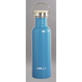 750ml Nolla Stainless Steel Bottle Pastel Blue