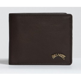 BILLABONG Archi Id Leather Chocolate Wallet
