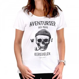 Tee Shirt Woman STERED Aventurier Des Mers White