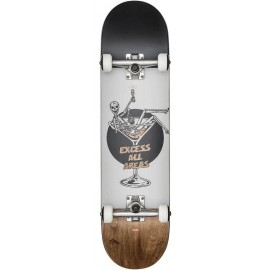 "Complet Skateboard Globe G1 Excess 8.0"" White Brown"