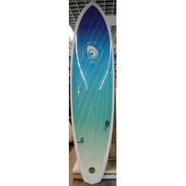 Mini Malibu Surfactory 7'2 Sunrise Deco Blue