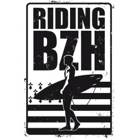 Riding BZH Metal Plate