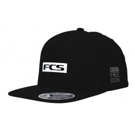 FCS Repel Snapback Cap Black