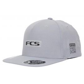 FCS Repel Snapback Cap Grey
