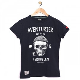Tee Shirt Child Stered Adventurer Of The Seas Navy