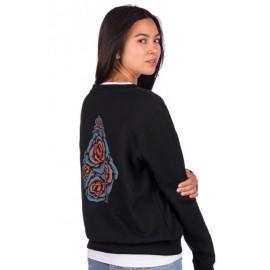 VOLCOM Sound Check Women's Sweatshirt Black