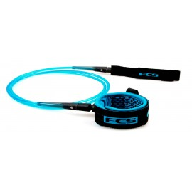 Leash FCS Comp Essential 5' Blue Black