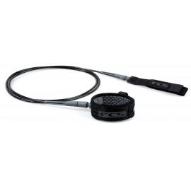 Leash FCS Comp Essential 6' Black Grey